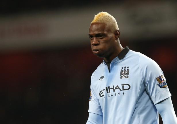"Нападающий ""Манчестер Сити"" Марио БАЛОТЕЛЛИ. Фото REUTERS Фото Reuters"