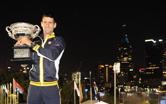 Победитель Australian Open Новак ДЖОКОВИЧ. Фото AFP. Фото «СЭ»