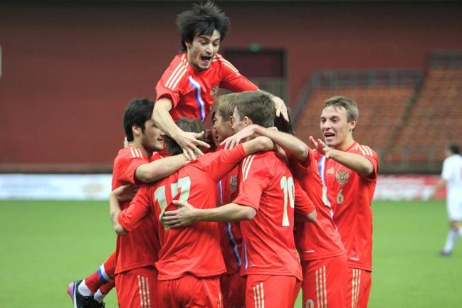 Молодежная сборная России. Фото официального сайта РФС Фото «СЭ»