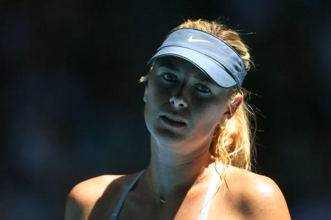 Российская теннисистка Мария ШАРАПОВА. Фото AFP Фото AFP