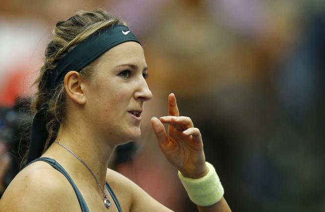 Белорусская теннисистка Виктория АЗАРЕНКО. Фото AFP Фото AFP