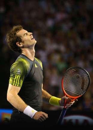 26 января. Мельбурн. В финале Australian Open Энди МАРРЭЙ проиграл Новаку Джоковичу. Фото AFP Фото AFP