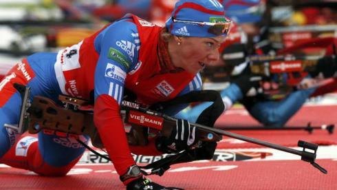 Бергер выиграла индивидуальную гонку, Зайцева - шестая