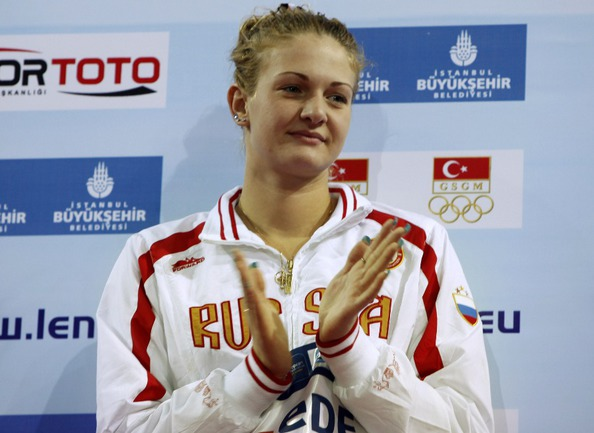 Чемпионка Европы в плавании на короткой воде Ксения МОСКВИНА будет дисквалифицирована на шесть лет. Фото REUTERS Фото Reuters