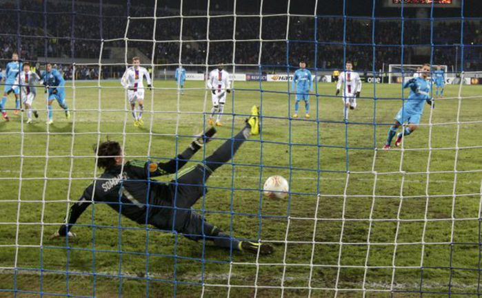 ФОТО: Питер без Лиги Европы Фото «СЭ»