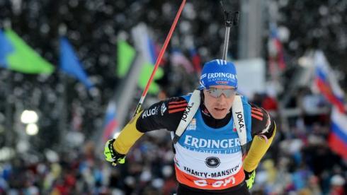 Бирнбахер доволен третьим местом в спринте