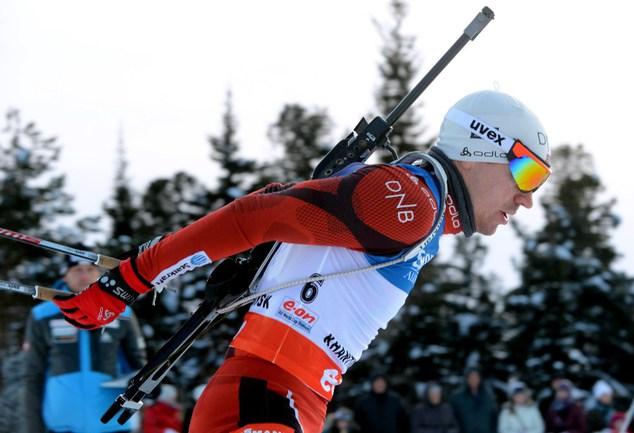 Норвежский биатлонист Эмиль Хегле СВЕНДСЕН. Фото AFP Фото AFP