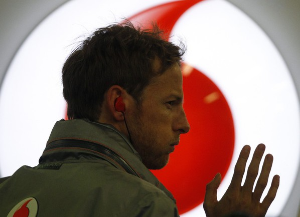 "Пилот ""Макларена"" Дженсон БАТТОН. Фото REUTERS Фото Reuters"