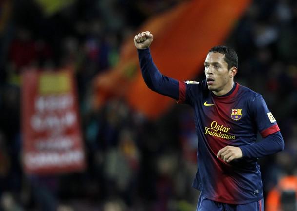 """Защитник """"Барселоны"""" АДРИАНУ выбыл из строя. Фото REUTERS Фото Reuters"""