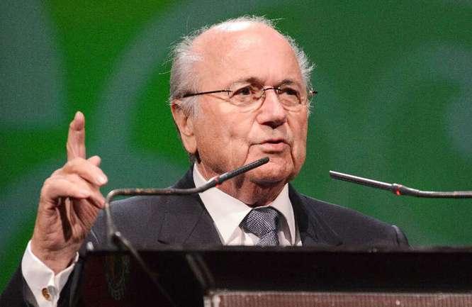 Президент ФИФА Йозеф БЛАТТЕР. Фото AFP Фото AFP
