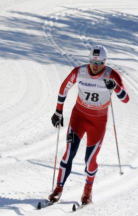 Норвежец Петтер НОРТУГ опередил в общем зачете Александра Легкова. Фото REUTERS Фото Reuters