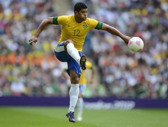 """Нападающий """"Зенита"""" и сборной Бразилии ХАЛК выйдет в стартовом составе в товарищеском матче против Италии. Фото REUTERS Фото Reuters"""