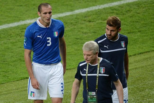 Защитник сборной Италии Джорджо КЬЕЛЛИНИ. Фото AFP Фото AFP