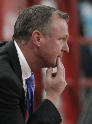 Главный тренер сборной Северной Ирландии Майкл О'НИЛ. Фото REUTERS Фото Reuters