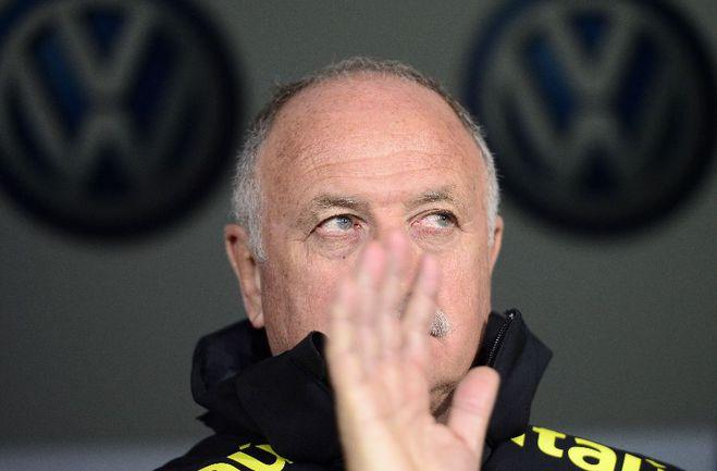 Главный тренер Бразилии Луиз Фелипе СКОЛАРИ. Фото AFP Фото AFP