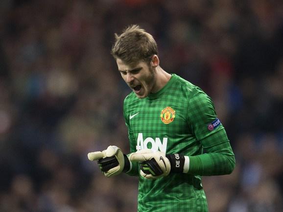 """Голкипер """"Манчестер Юнайтед"""" Давид ДЕ ХЕА. Фото AFP Фото AFP"""