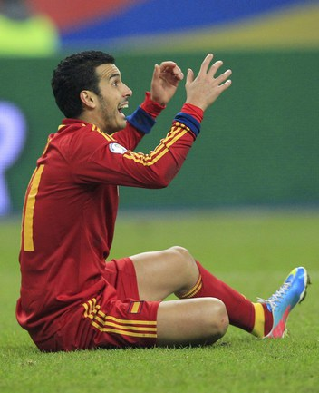"Нападающий ""Барселоны"" и сборной Испании ПЕДРО. Фото REUTERS Фото Reuters"