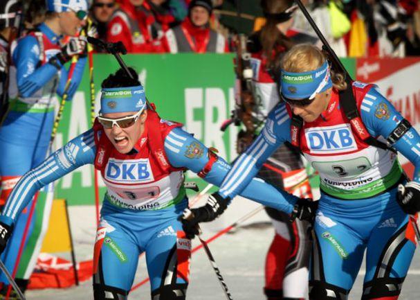 Светлана СЛЕПЦОВА (слева) и Ольга ЗАЙЦЕВА. Фото СБР Фото «СЭ»