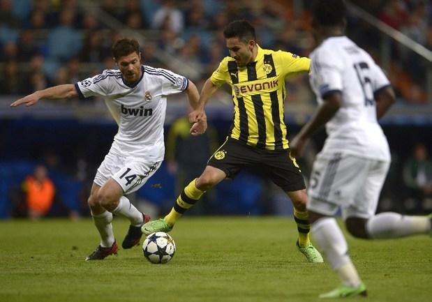 "Вторник. Мадрид. ""Реал"" - ""Боруссия"" Д - 2:0. Хаби АЛОНСО. Фото AFP Фото AFP"