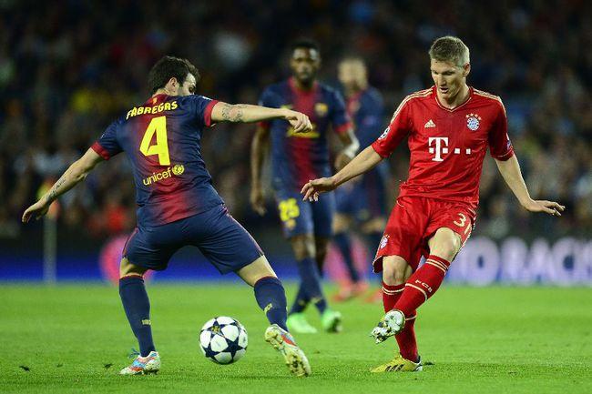 """Среда. Барселона. """"Барселона"""" - """"Бавария"""" - 0:3. Бастиан ШВАЙНШТАЙГЕР. Фото AFP Фото AFP"""