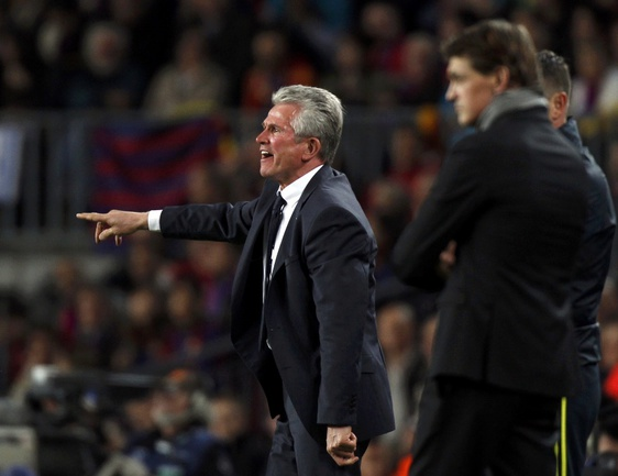 "Среда. Барселона. ""Барселона"" - ""Бавария"" - 0:3. Юпп ХАЙНКЕСС. Фото REUTERS Фото Reuters"