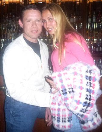 Павел БУРЕ с женой АЛИНОЙ. Фото Динары КАФИСКИНОЙ Фото «СЭ»
