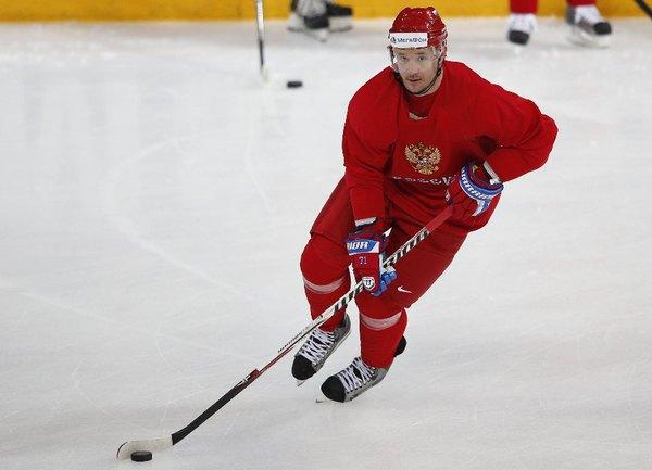 Нападающий сборной России Илья КОВАЛЬЧУК. Фото REUTERS Фото Reuters