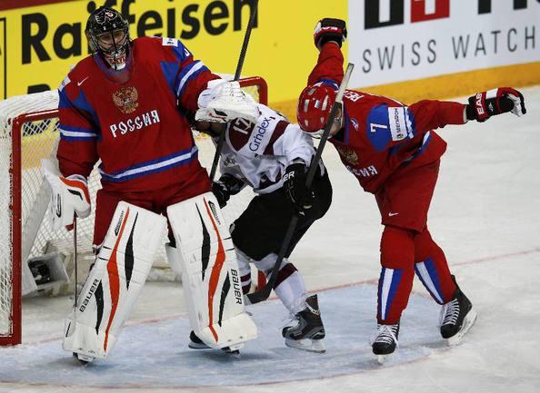 Голкипер сборной России Илья БРЫЗГАЛОВ. Фото REUTERS Фото Reuters
