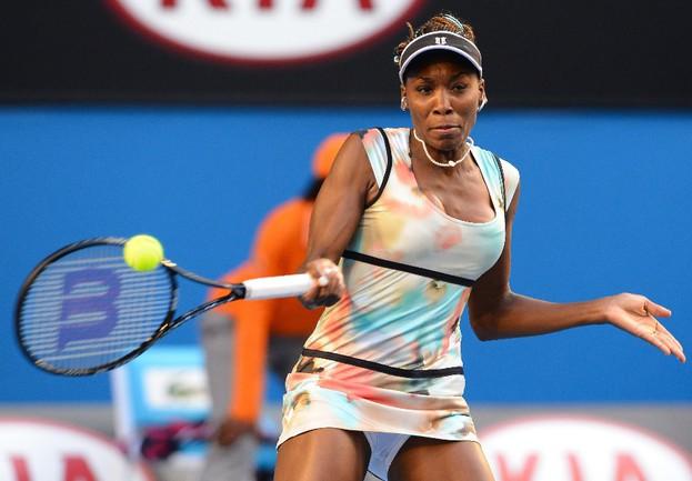 Американка Винус УИЛЬЯМС снялась с теннисного турнира в Мадриде. Фото AFP Фото AFP