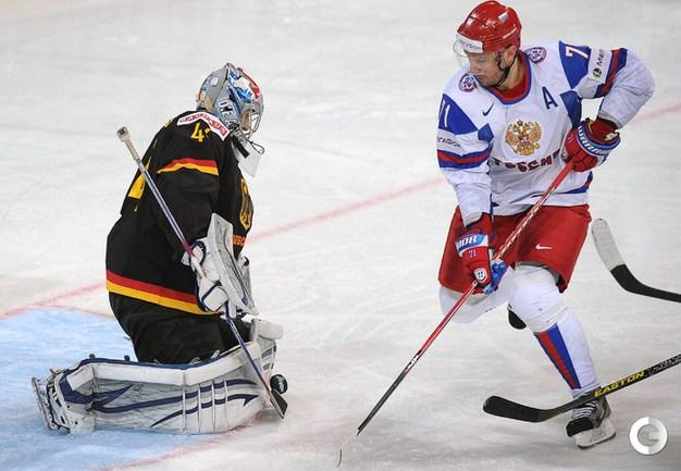 Фото: Хет-трик Ковальчука принес России победу над Германией Фото «СЭ»