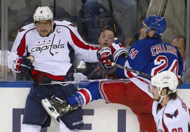 """Капитан """"Вашингтона"""" Александр ОВЕЧКИН. Фото REUTERS Фото Reuters"""