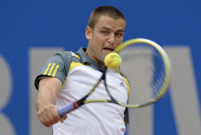 Михаил ЮЖНЫЙ вышел во второй круг на турнире в Мадриде. Фото AFP Фото AFP