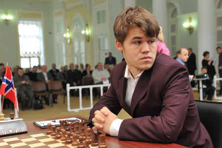 Претендент на титул чемпиона мира Магнус КАРЛСЕН готов поехать в Индию на матч за шахматную корону. Фото AFP Фото AFP