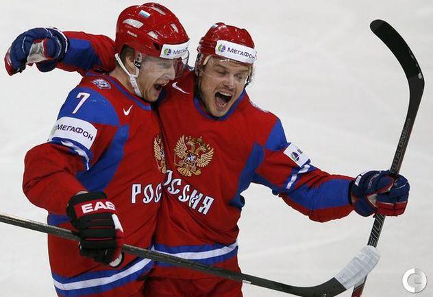 ФОТО: Российские хоккеисты обыграли американцев Фото «СЭ»