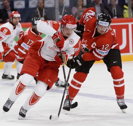Капитан сборной Канады Эрик СТААЛ. Фото AFP Фото AFP