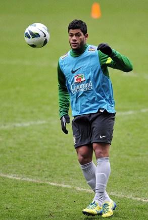 Нападающий сборной Бразилии ХАЛК. Фото AFP Фото AFP