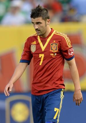 Форвард сборной Испании Давид ВИЛЬЯ. Фото AFP Фото AFP