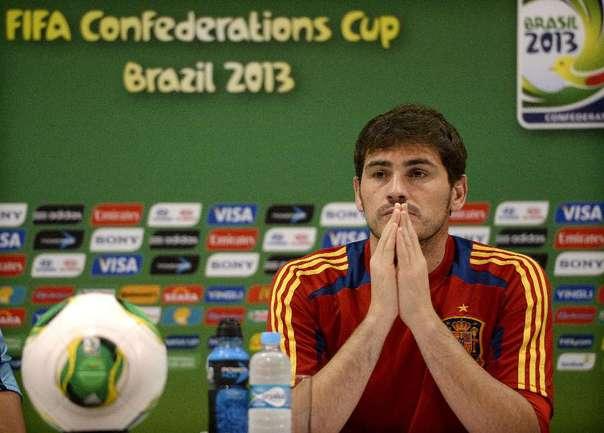 Голкипер сборной Испании Икер КАСИЛЬЯС. Фото AFP Фото AFP