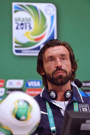 Полузащитник сборной Италии Андреа ПИРЛО. Фото AFP Фото AFP