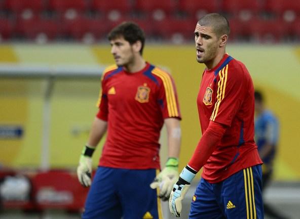 Итальянцы и испанцы готовятся взять старт на Кубке конфедераций-2013 Фото «СЭ»