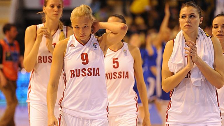 Действующий чемпион континента сборная России близка к бесславному вылету с Евробаскета. Фото fiba-europe.com