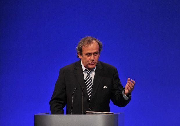 Президент УЕФА Мишель ПЛАТИНИ. Фото AFP Фото AFP
