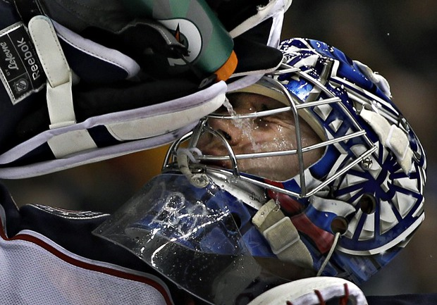 Российский голкипер Сергей БОБРОВСКИЙ. Фото REUTERS Фото Reuters