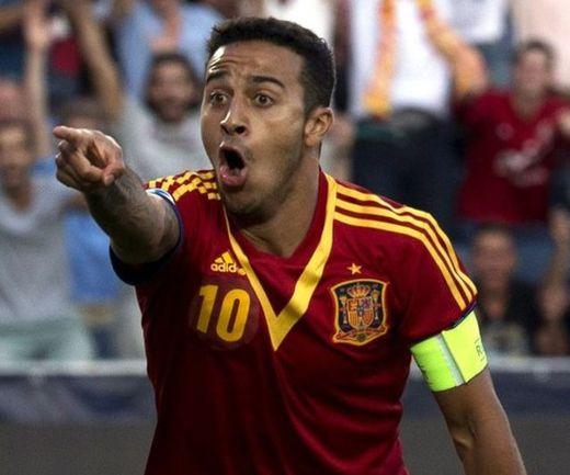 Хет-трик Тиагу Алькантары делает Испанию чемпионом Фото «СЭ»