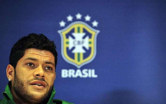 Форвард сборной Бразилии ХАЛК. Фото AFP Фото AFP
