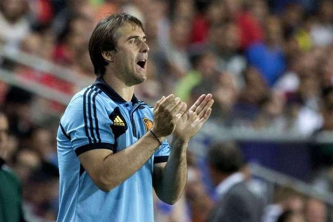 Главный тренер сборной Испании Хулен ЛОПЕТЕГИ. Фото AFP Фото AFP