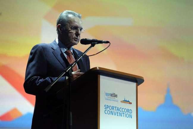 Президент Международного олимпийского комитета Жак РОГГЕ. Фото AFP Фото AFP