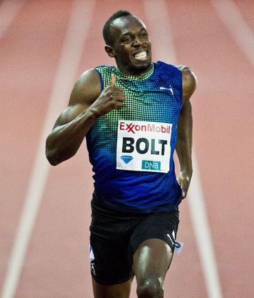 Ямайкский спринтер Усэйн БОЛТ отобрался на чемпионат мира по легкой атлетике в Москве. Фото AFP Фото AFP