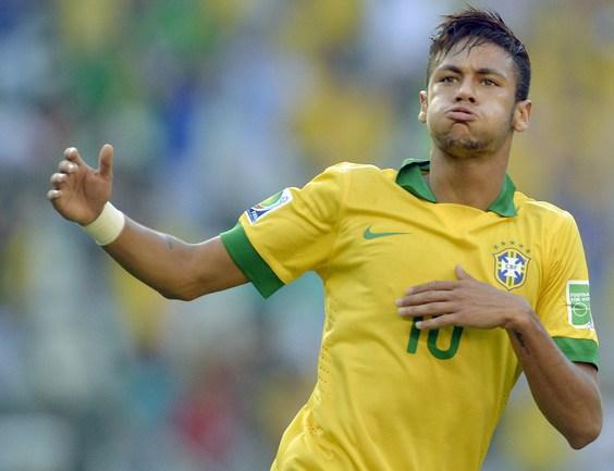 Форвард сборной Бразилии НЕЙМАР. Фото AFP Фото AFP