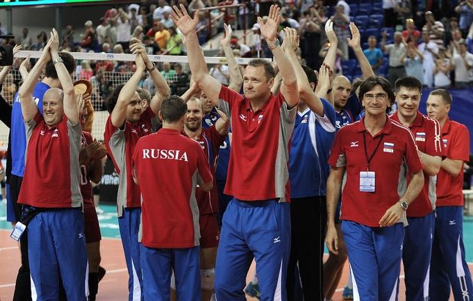 Россияне победили Италию со второй попытки. Фото FIVB